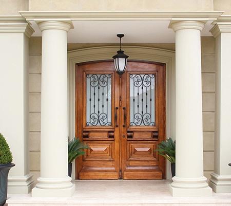 Wrought Iorn Doors